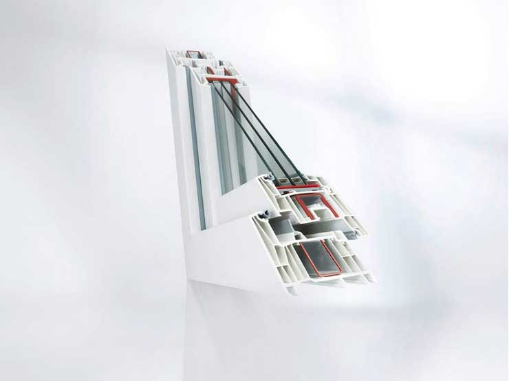 Rehau Synego műanyag ablak
